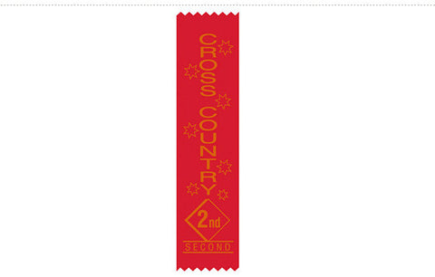 S16: Cross Country Satin Sports Ribbons