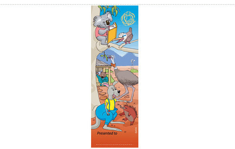 BM475: Aussie Animals Bookmark