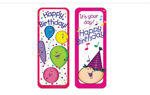 CTP0929: Happy Birthday Bookmark