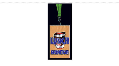 DR15: Classroom Responsibility Tags. Lunch Monitor
