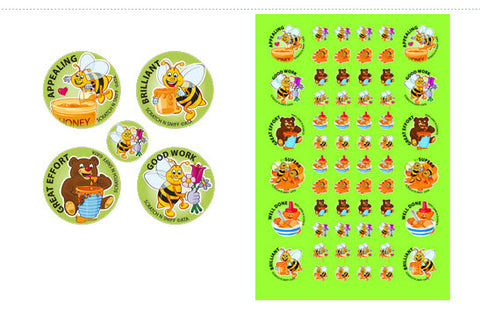 SS1007: ATA Honey ScentSations Stickers