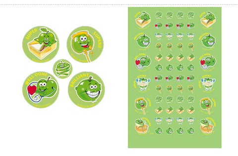 SS1009: ATA Green Apple ScentSations Stickers