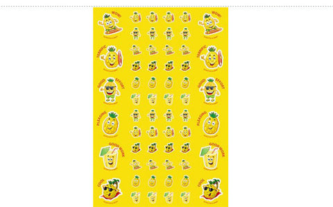 SS1012: ATA Pineapple ScentSations Stickers
