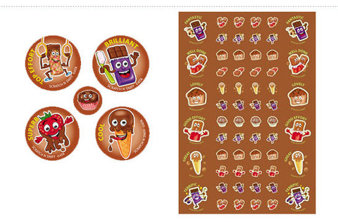 SS1016: ATA Chocolate ScentSations Stickers