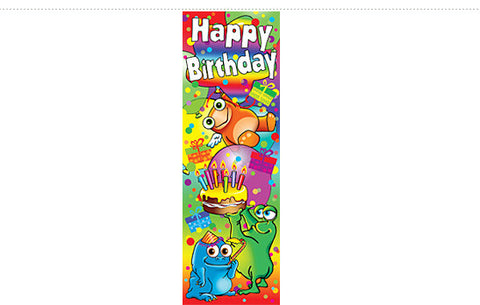 DB6: Happy Birthday Bookmark