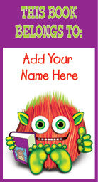 PB002 Furball Friend Personalised Book Plates