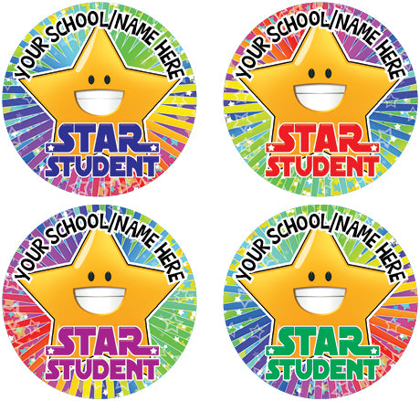 PS13 Multi Pack Personalised Stickers