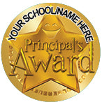 PS14 Principal's Award Personalised Stickers