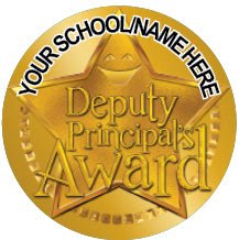 PS38 Deputy Principal's Award Personalised Stickers