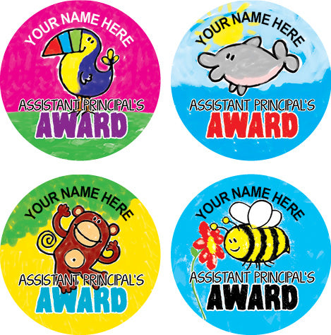 PS41 Assistant Principal's Award Personalised Stickers