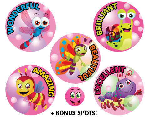 SBS2 Sticky Beak Scented Stickers: Bubblegum