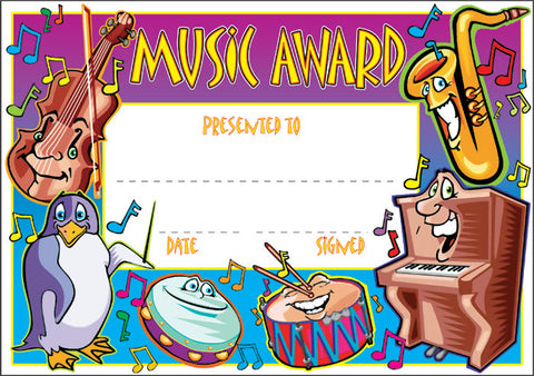 SCT004: Music Award