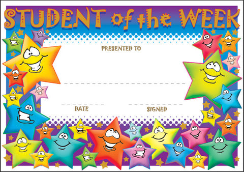 SCT006: Student of the Week