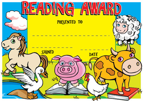 SCT102: Reading Award