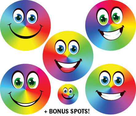 SF409: Rainbow Smiles Foil