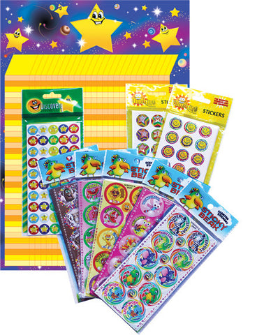 VP5 Sniffs & Bling Value Pack 1824 Stickers