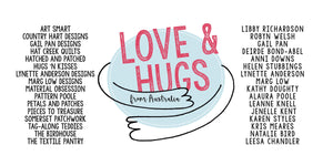 Love & Hugs from Australia Project