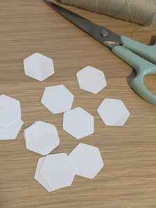 "3/8"" Hexagon Paper Pack"