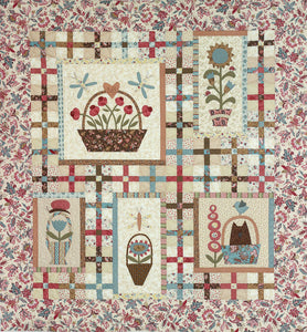 Baskets & Critters Quilt Pattern
