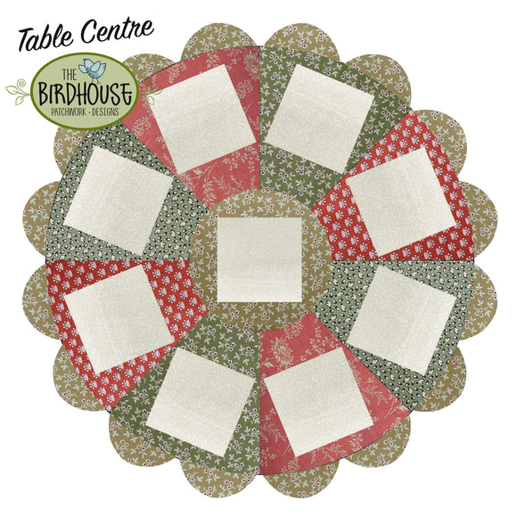 Christmas TableCentre Fabric Pack