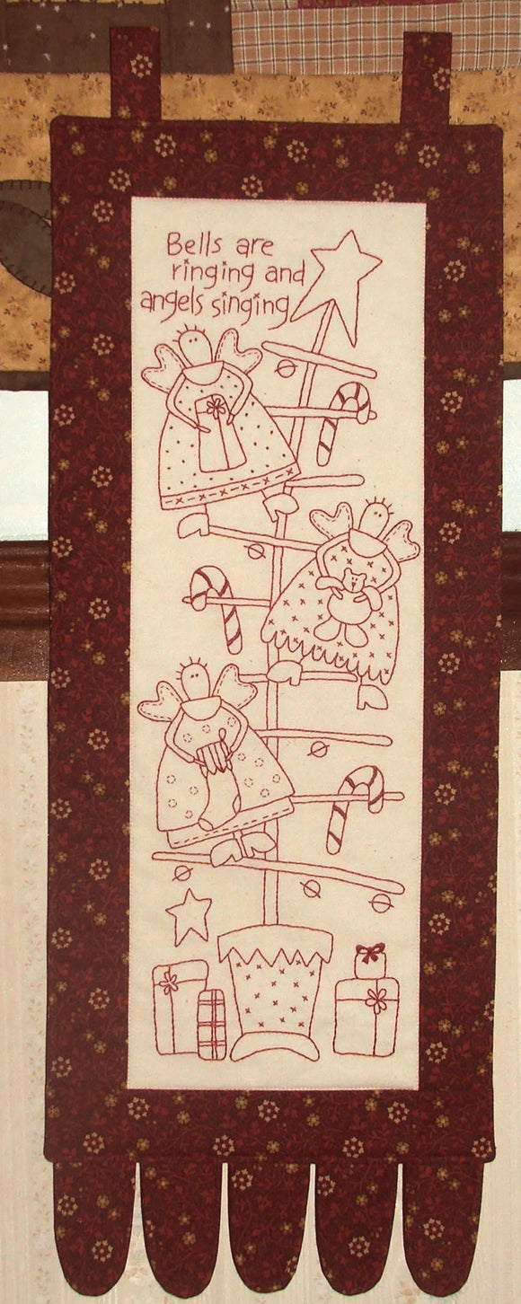 Christmas Angels Stitchery