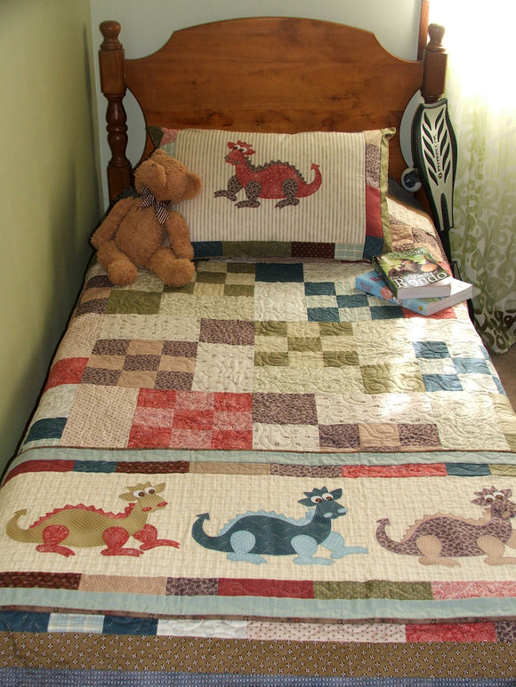 Daring Dragons Quilt Pattern