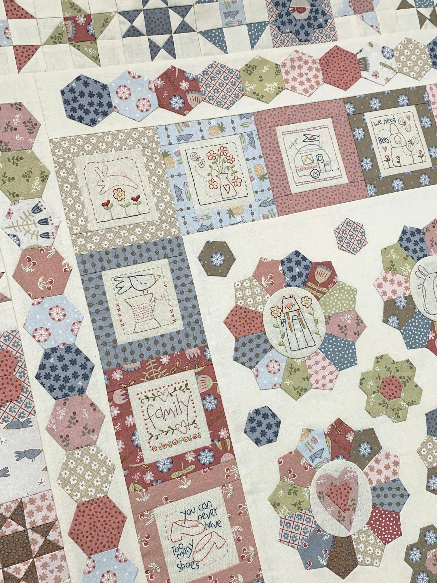 Heartstrings Quilt Pattern – The Birdhouse Patchwork Designs