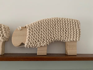 Lambert Woven & Wood Sheep – Large