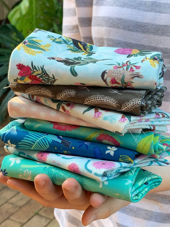 Australiana Fabric Bundle – Fat 1/4