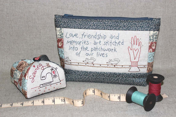 Love & Friendship Sewing Set Pattern