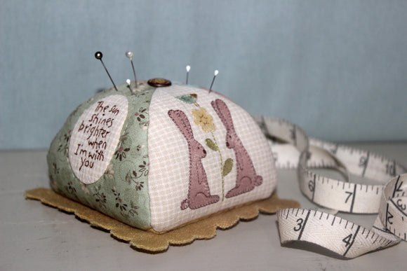 Ma Bunny Pincushion Pattern