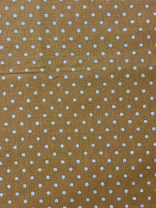 Burnt Orange Spot on Linen