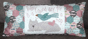 Cat Nap Cushion Pattern