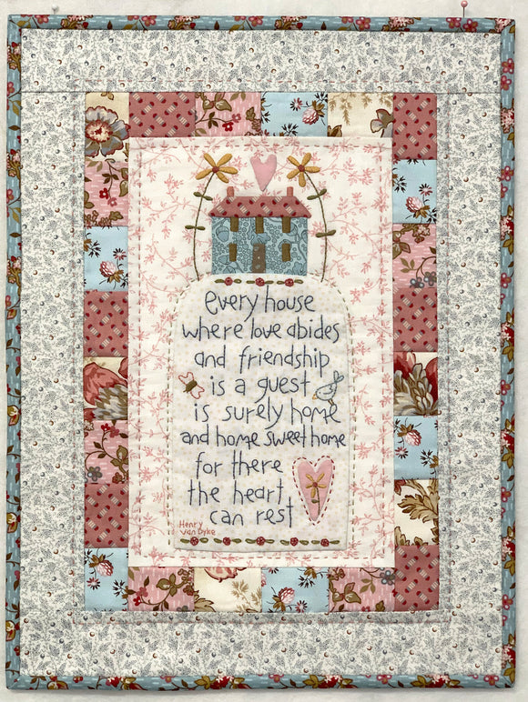 Home Sweet Home Wallhanging – Kit