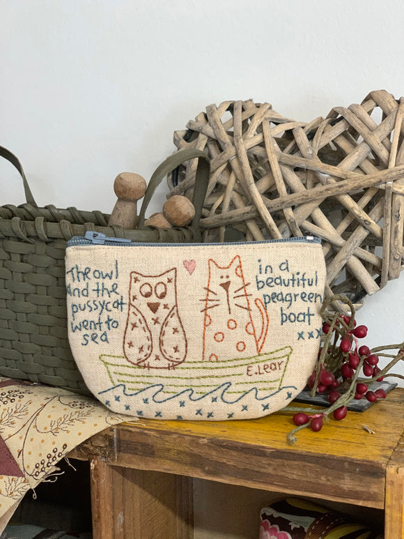 Owl & Pussycat Purse Pattern