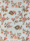 Jane Austen at Home Pale Blue floral print