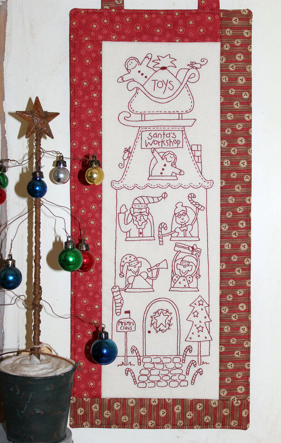 Santa's Workshop Stitchery