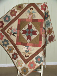 Sewing Angels Quilt Pattern