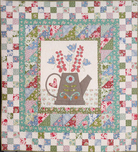 The Watering Can Quilt Pattern