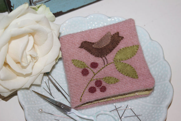 Winterberry Needlebook Pattern