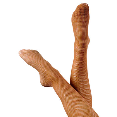Fiesta Footed Traditional Fishnets Tan adults