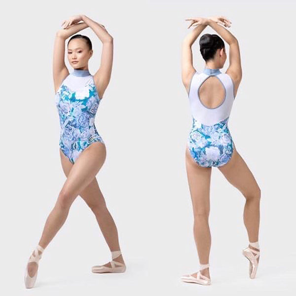 Uactiv Blue Rosette Leotard