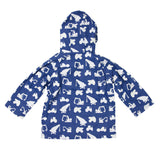 Navy colour changing digger raincoat