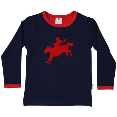 Korango cowboy long sleeve top