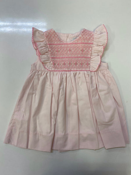 Pink Hand Smocked Dress