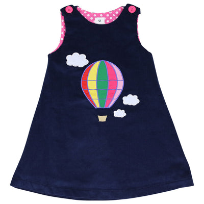 Balloon cord pinafore