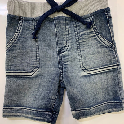 Korango soft denim shorts