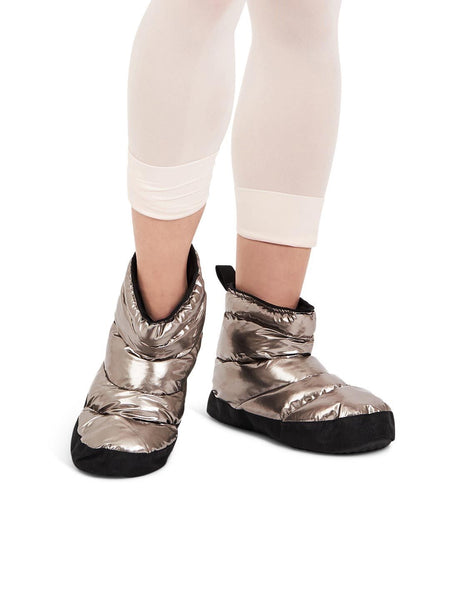 Glam booties pewter
