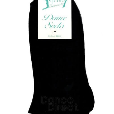 Black Dance Socks