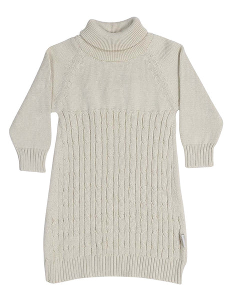 Cable Knit Turtle Neck Dress